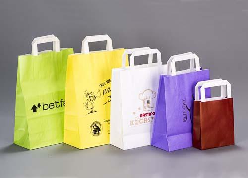 Papiertüte Kartoffel-Genuss 22+10x36 Einkaufstüten 15 Papiertüten