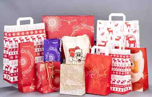 weihnachtstaschen weihnachtstragetaschen tragetaschen bedrucken. Black Bedroom Furniture Sets. Home Design Ideas